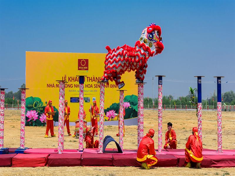 Quy trình tổ chức lễ hánh thành tại Biên Hòa của Revive Event