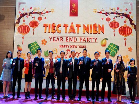 Chủ đề tổ chức một bữa tiệc cuối năm đáng nhớ cùng với Revive Event