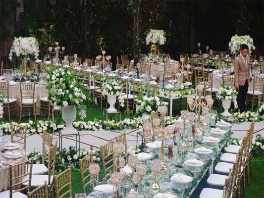 Tổ chức tiệc cưới lãng mạn